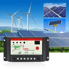 30A PWM Solar Panel Controller Battery Charge Regulator Auto With USB