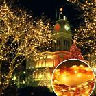 100 LEDs Solar Powered String Light Copper Wire Lights Ambiance Lighting Outdoor