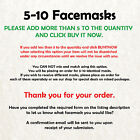 Wolf Cardboard Face Mask - Made In The UK - Fast Dispatch!