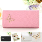Women Lady PU Leather Clutch Wallet Long Purse Card Holder Case Purse Handbag