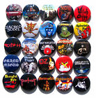 25 BUTTONS Ostrogoth Heavy Load Oz Stormwitch Randy Candlemass Death SS - patch