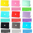 "Matte Hard Rubberized Laptop Case Cover+KB For 2016 Macbook Touch Bar 13""15"""