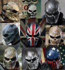 Airsoft Paintball Full Face Protection Skull Mask Outdoor Tactical Gear MO6