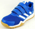 "ADIDAS  Kinder Halle Freizeit  ""INTERPLAY CF K""  blau/weiss  Gr. 28 - 38,5"