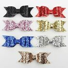 Gift Crystal Women Fashion Hair Clip Bow Big Bowknot Barrette Girls Hairpin