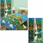 UNIQUE PRINT FARM YARD FRIEND PRINT DUVET COVER BED SET OR MATCHING CURTAINS