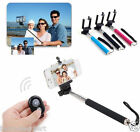 BT Remote Shutter Selfie Extendable Handheld Stick Monopod for iPhone Android