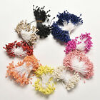 280PCS Artificial Flower Stamen Double Tip Pearlized Craft Cakes Decoration FO