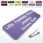 Custom ID Engraved Name Badges for Salon Hairdresser Tour Events Volunteer
