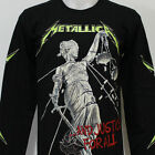 METALLICA And Justice for All Long Sleeve T-Shirt New Size S M L XL 2XL 3XL
