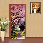3D Blooming Trees Door Wall Mural Photo Wall Sticker Decal Wall AJ WALLPAPER AU