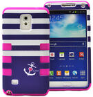 For Samsung Galaxy Note 4 Shockproof Rugged Hybrid Rubber Phone Case Soft SLIM