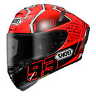 Shoei X-Spirit 3 ECE Helmet - Marc Marquez Replica #4 Track Race Motorcycle Road