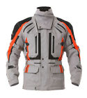 RST Mens Paragon 5 Waterproof Motorcycle Jacket - Silver/Red Touring Winter Road