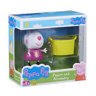 New Peppa Pig Figure & Accessory Suzie Sheep & Basket Set