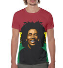Bob Marley - All Over print T-Shirt colorful reggae tee music legend style goa
