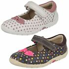 Clarks Girls Casual Shoes - Softly Dotty