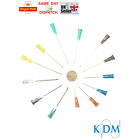 10 15 20 25 30 40 50 60 80 100 KDM NEEDLES 13 SIZES STERILE BLUE CYCLE CHEAPEST