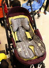 Stroller Liner Car Seat Pad Air Mesh Cover Neck Pillows 4 Season Washable Baby