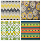 CHEVRON Mexican Patterns Print Waterproof Ceramic WALL TILE/ Table COASTER~NEW
