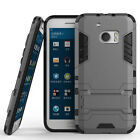 HTC 10 (5.2'') Dual Layer Hybrid Rugged Case Shockproof Cover w/ Kickstand