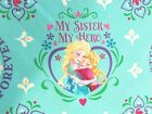 Frozen Fabric Sisters Forever Elsa Anna My Hero Quilting Cotton FQ, BTHY, BTY