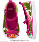 Gymboree NWT Multi-Color FLORAL BOW SLIP ON SNEAKERS FLATS DRESS SHOES US 3 8