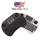 2.4Ghz Hot Mini i8 Wireless keyboard Lot from USA, Air Mouse Touchpad for TV box