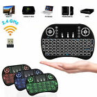 Lot of Mini i8 BackLight Wireless keyboard 2.4 Ghz, Touchpad for TV box, Mobile