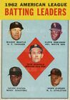 "MICKEY MANTLE 1962 Robinson RUNNELS + = POSTER Not Baseball Card 7 SIZES 19""-36"""