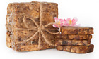 Brand New Authentic Raw African Black Soap Organic Plant Based - Choose Size
