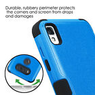 LG Tribute HD / Volt 3 /X Style - HYBRID HARD&SOFT RUBBER ARMOR PHONE CASE COVER