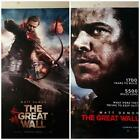 Poster Film THE GREAT WALL - Originale Cinema 70x100
