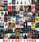 Greatest Movie Posters Top 100 Classic Vintage Poster Art Prints <br/> BUY 2 GET 1 FREE - LOTS OF SIZES AND POSTERS TO CHOOSE