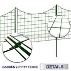 25x27.5 Expandable Zippity Garden Fence Kit Landscaping Flower Plant TreeBoarder