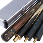 Jian Ying New 3/4 piece Handmade Ash Snooker/Pool Cue set W/ Case Extension