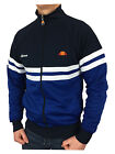 Ellesse Mens Rimini 3 Track Top Jacket in Dress Blues/Monaco Blue Size Small