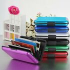 Aluminum Metal Wallet Business ID Credit Card Case Holder Anti RFID Scanning Box