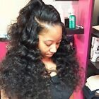 Pre Plucked 360 Lace Frontal Loose Wave Virgin Hair Closure Natural Hairline Wit