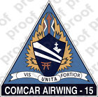 STICKER USN CARRIER AIR WING CVW 15