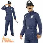 London Bobby Mens Fancy Dress Policeman Officer Uniform Adult Cop Costume
