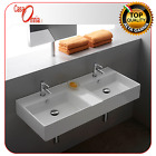 """LAY-ON OR WALL-MOUNTED WASHBASIN WITH SEPARATE TANKS """"TEOREMA"""""""