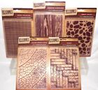 Textures Embossing Folders Artist Collection UPick a 5x7 by Crafter's Companion