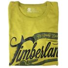 Timberland Men's Short Sleeve Patch Pocket Graphic Logo Mocha T-Shirt A1CV4