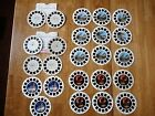 Lot of  24 reels-Dinosaurs, IMAX, Discovery & More-Viewmaster - Some Duplicates