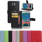 Wallet Leather Flip Case Card Cover For Samsung Galaxy J5 Prime Genuine AuSeller