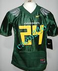 Oregon Ducks Wings Nike Green Football Jersey #24 Boys Preschool Kids 4 or 5