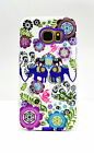 Hybrid Case PC Bumper Case Frame Slim Protective For Samsung Galaxy S6 Elephant