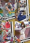 2017 Topps Gold Parallel Singles /2017 - U Pick cards 200-299 Complete your set