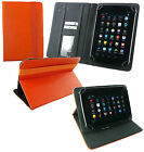 Stylish PU Leather Wallet Case Cover fits Moonar 7 Inch Android Tablet